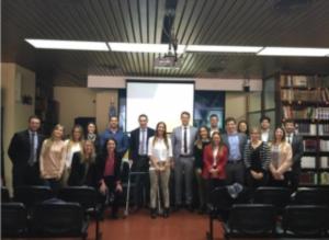 Reunión en la delegación de Buenos Aires